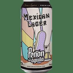 Peñón del Águila Mexican Lager, lata 473cc