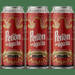 3x Peñón del Águila Roja Oktoberfest, lata 473cc