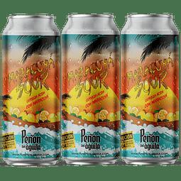 """"""" Pack Festival BeerSquare - 3x Peñón del Águila Maracuyá Sour, lata 473cc """""""