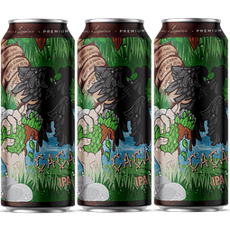 3x Peñón del Águila Cacao IPA, lata 473cc
