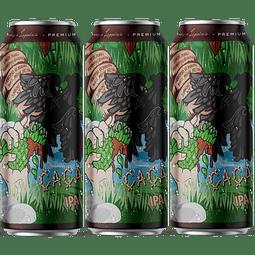 3x Peñón del Águila Cacao IPA lata 473cc