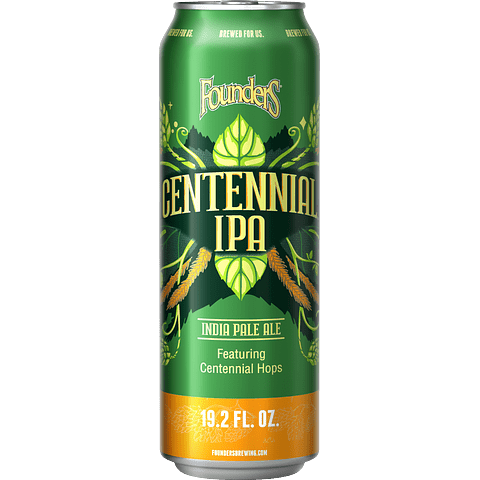 Founders Centennial IPA, Big lata 19,2oz (567cc)