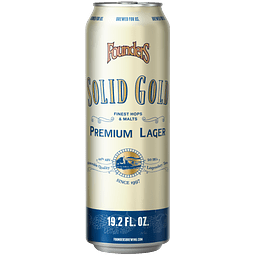 Founders Solid Gold, Big lata 19,2oz (567)