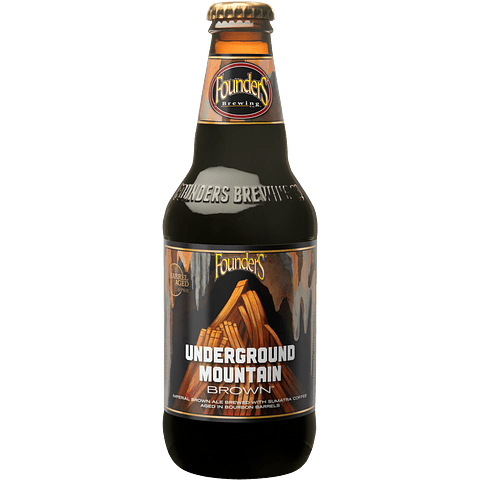Founders Underground Mountain Brown, Botella 355cc