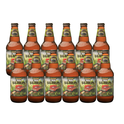 12x Cerveza Founders All Day IPA 355cc