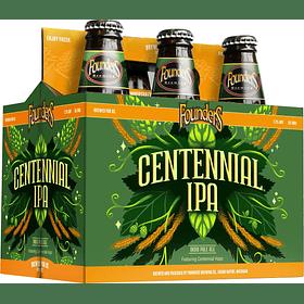 6x Cerveza Founders Centennial IPA 355cc