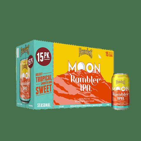 15x Founders Moon Rambler IPA lata 355cc