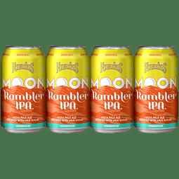 4x Founders Moon Rambler IPA, lata 355cc