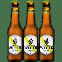 ¡Volvieron los Belgas! 3x Witte Pera & Manzana botella 330cc