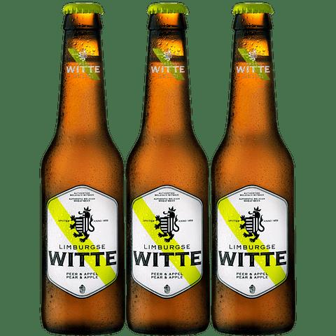 """""""3x Witte Pera & Manzana botella 330cc"""""""
