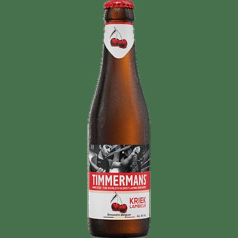 """""""Timmermans Kriek Lambic botella 250cc"""""""