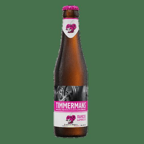 """Timmermans Framboise Lambic botella 250cc"""