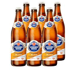 6x Cerveza Schneider Weisse Tap7 Original 500cc