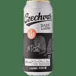 Czechvar Dark Lager lata 500cc