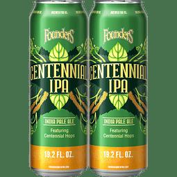 2x Founders Centennial IPA, Big lata 19,2oz (567cc)