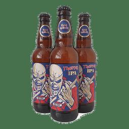 3x Trooper IPA botella 500cc