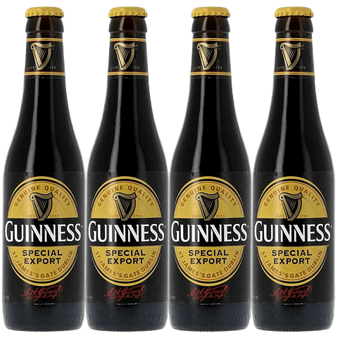 4x Guinness Special Export (GSE) botella 330cc
