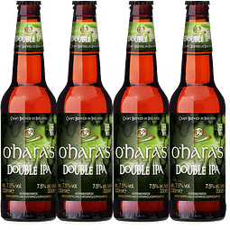4x O´Haras Double IPA botella 330cc