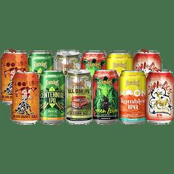 12x Cervezas Americanas Founders y Flying Dog latas 355cc
