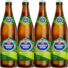 4x Schneider Weisse Tap 5 Hopfenweisse, botella 500cc