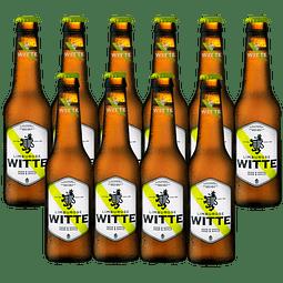 ¡Volvieron los Belgas! 10x Witte Pera & Manzana 330cc
