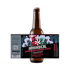Intrinsical American Horror Stout botella 330cc