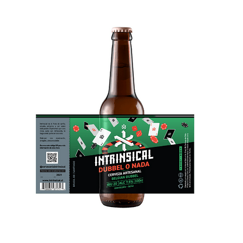 Intrinsical Dubbel o Nada botella 330cc