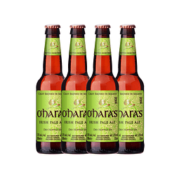 4x O´Haras Irish Pale Ale botella 330cc