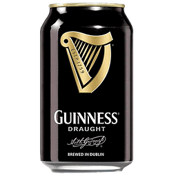 Guinness Draught Stout lata 330cc