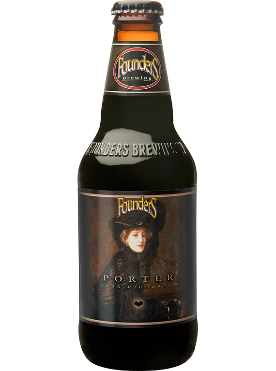 Cerveza Founders Porter botella 355cc