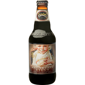 Cerveza Founders Breakfast Stout botella 355cc