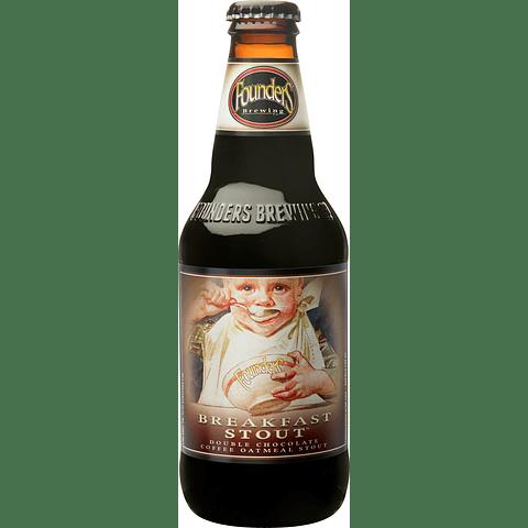 Cerveza Founders Breakfast Stout botella 355cc
