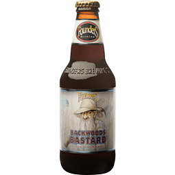 Cerveza Founders Backwoods Bastard botella 355cc