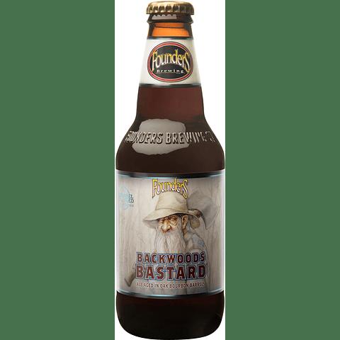 Cerveza Founders Backwoods Bastard botella 355cc