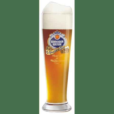 Schneider Weisse Vaso Weissbier Cerveza de Trigo 500cc