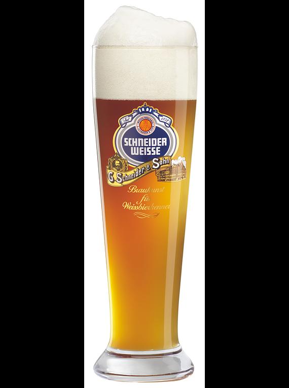 Vaso Cerveza de Trigo Schneider Weisse 500cc