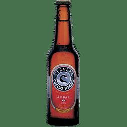 Cerveza Cuello Negro Ambar botella 330cc
