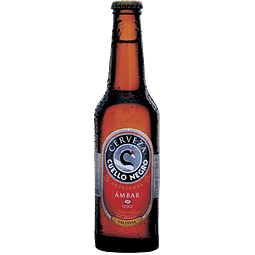 Cuello Negro Ámbar botella 330cc