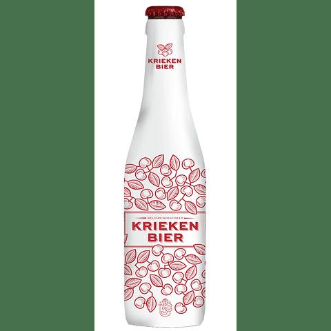 Cerveza Kriekenbier Wheat Fruta botella 250cc