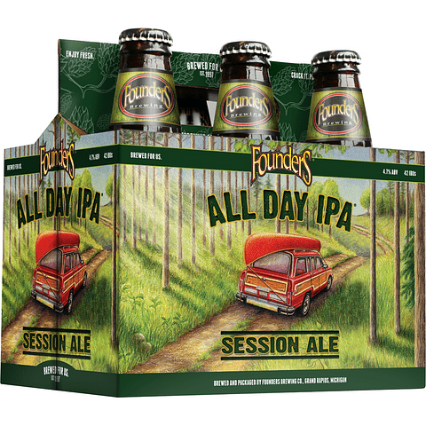 Action Ipa Days! Pack Cervezas Founders All Day Ipa 6 unid.