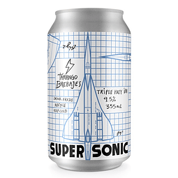 Cerveza Tamango Supersonic Triple Hazy IPA 355cc