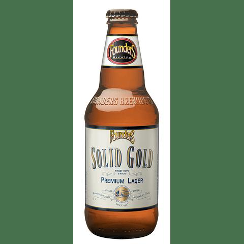 Cerveza Founders Solid Gold botella 355cc