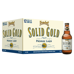 12x Cerveza Founders Solid Gold botella 355cc