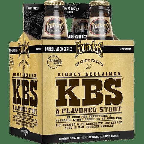 Pack Cervezas Founders KBS 4 botellas 355cc