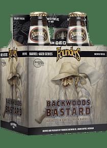 Founders Backwoods Bastard Pack 4 Bot 355ml