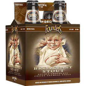 Founders Breakfast Stout Pack 4 Bot 355ml
