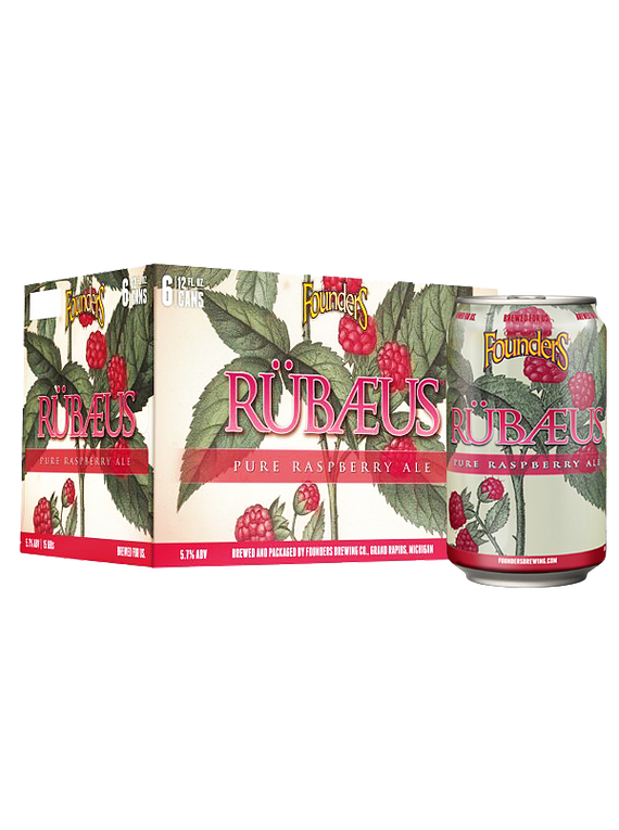 Founders Rübaeus - Pack 6 Latas 355ml
