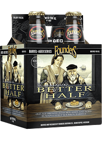 Founders Better Half Pack 4 Bot 355ml