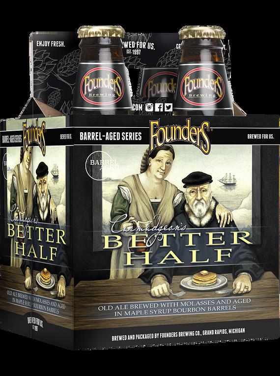 Founders Better Half Pack 4 Bot 355ml
