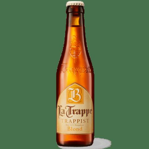 Cerveza La Trappe Blond botella 330cc